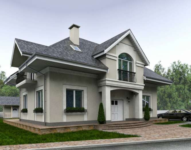 PRIVATE HOUSE ON OBOLON, KIEV (NATALKA TRACT)