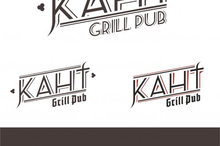 Логотип для бара «КАНТ»