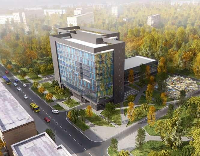 MULTIFUNCTIONAL RECREATION COMPLEX ON SHAMRYLA STR., KIEV