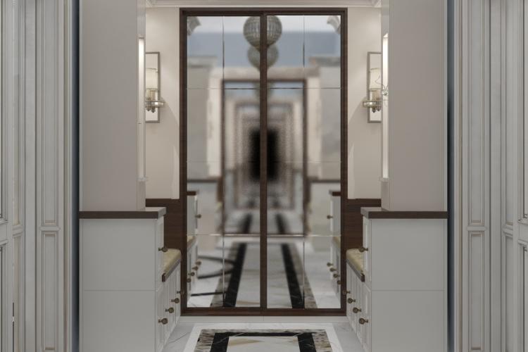 Интерьер особняка в классическом стиле