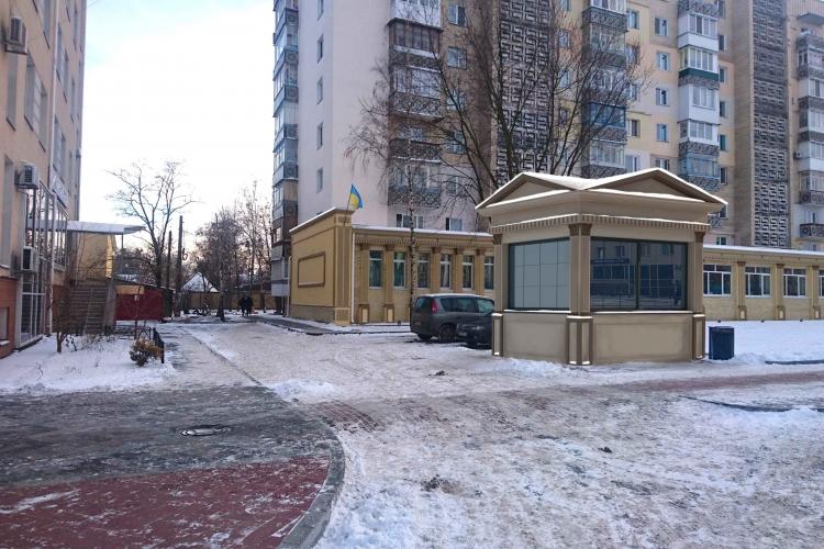Малые архитектурные формы в г.Ирпень