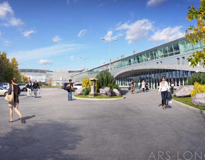 Блогоустрій аеропорту Бориспіль